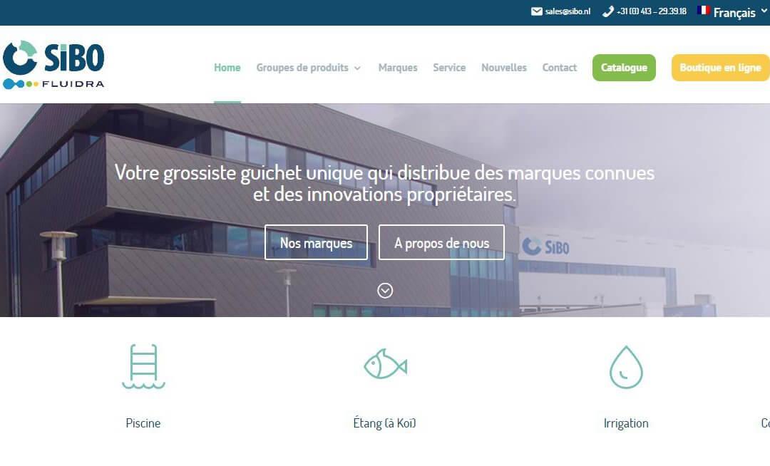 Nouveau Site SIBO Fluidra!