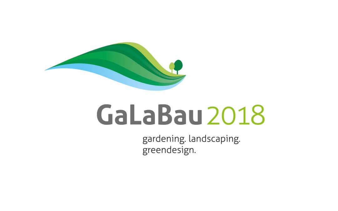 Auch in diesem Jahr finden Sie uns auf der GaLaBau 2018